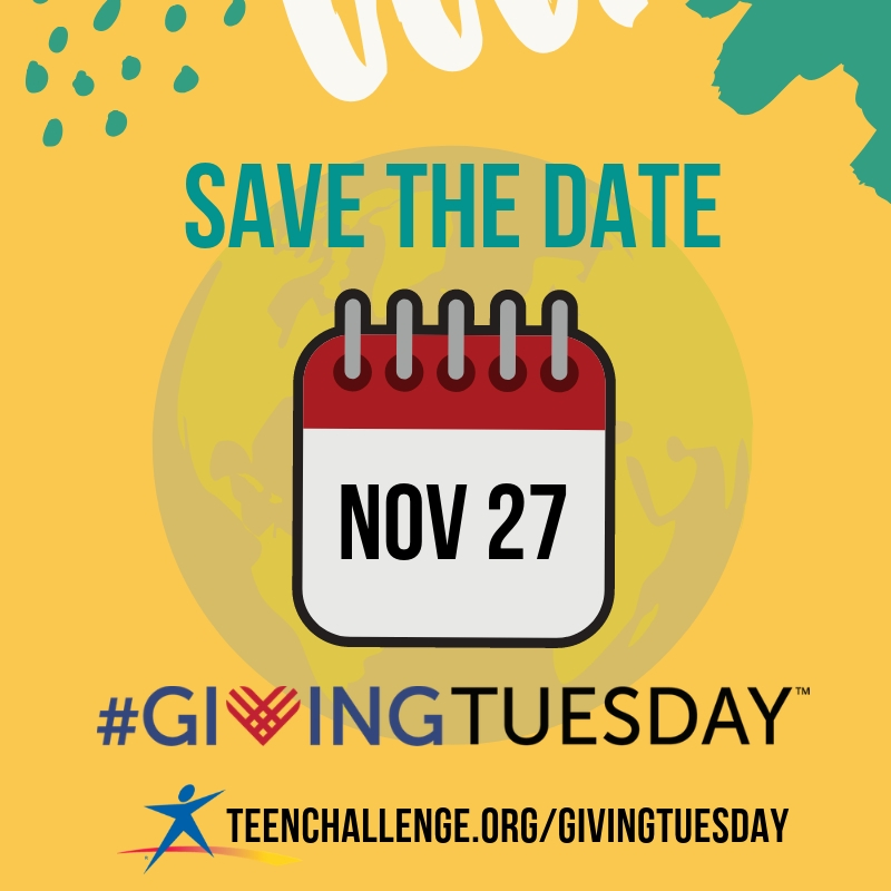 Save the date Giving Tuesday